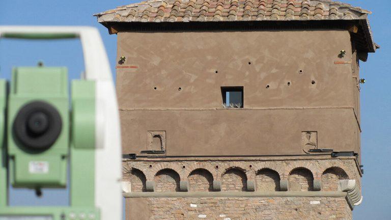 Torre della Moletta al Circo Massimo in Roma