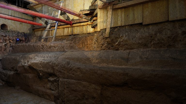 Muro antico in Via Tiburtina