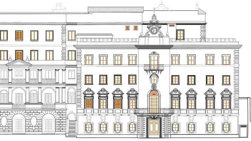 Palazzo in Castel Gandolfo