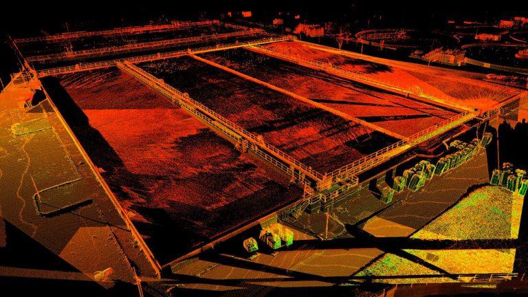 Monitoraggio di una vasca di ossidazione del depuratore Roma Est