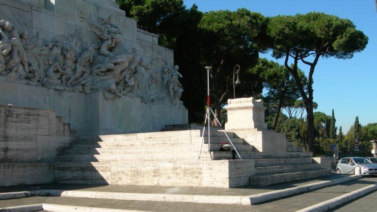 Rete di capisaldi nelle aree archeologiche di Roma